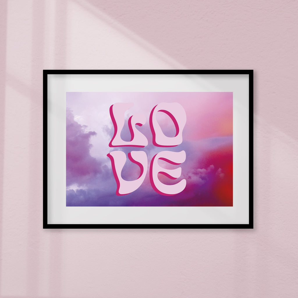 LOVE is in the Air - Limited edition Print