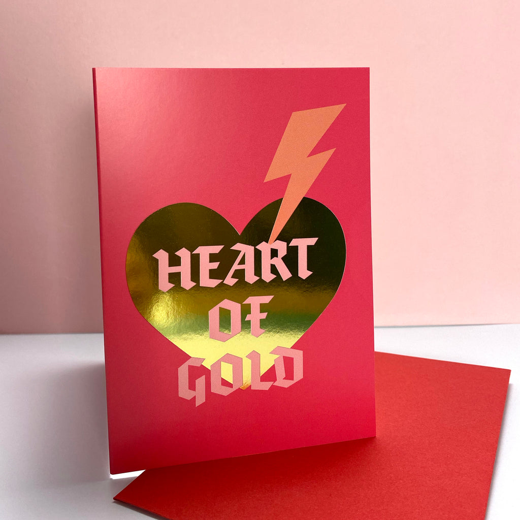 Heart of Gold - Valentines Card