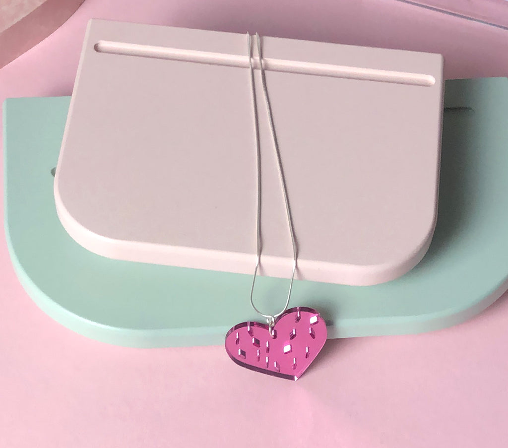 Heart and Sprinkles necklace by playful brand Doodlemoo