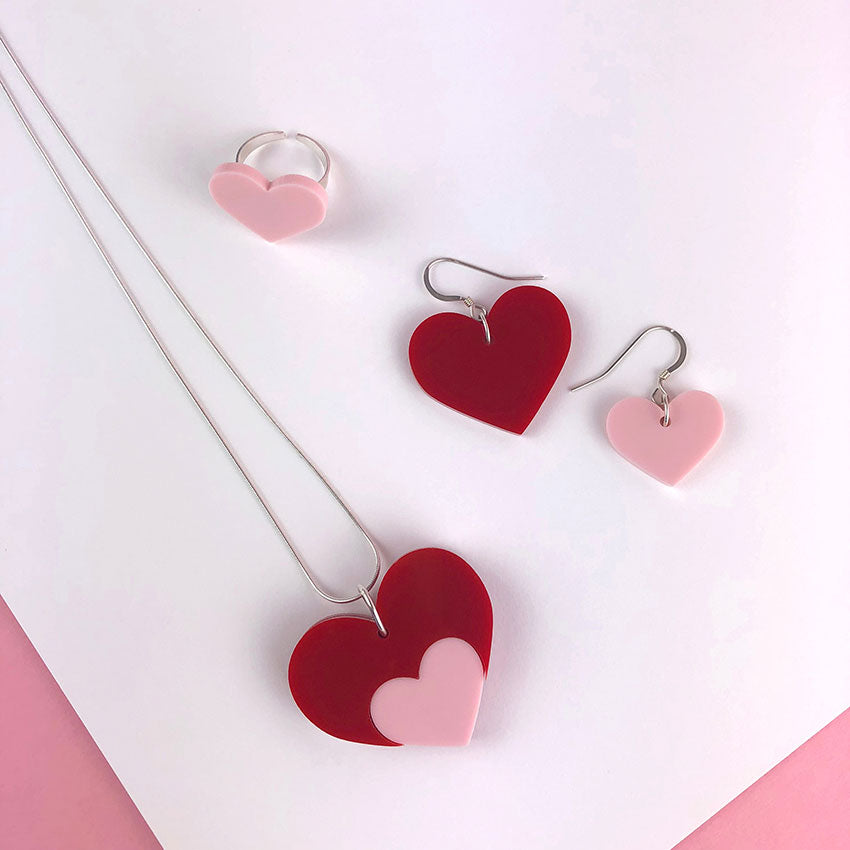 Love Shout Acrylic Jewellery Collection