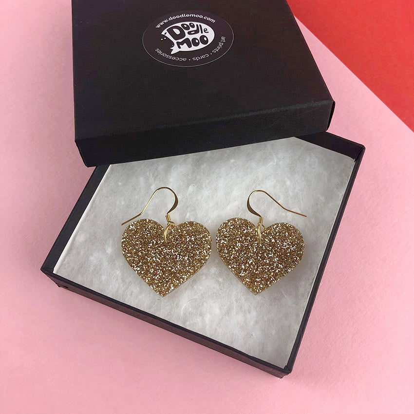 LOVE ROCKS! earrings designed by Doodlemoo