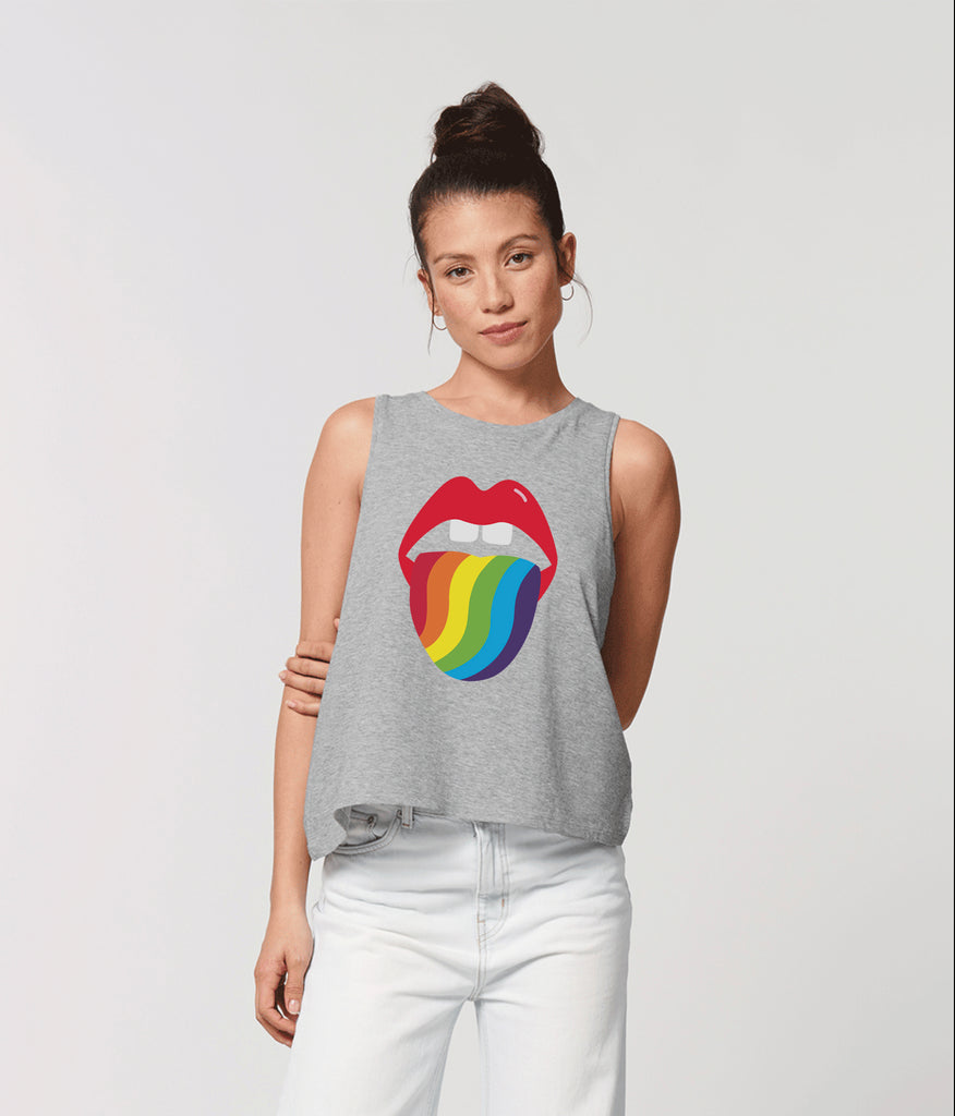 Stella Dancer 'Kiss me Rainbow' tee