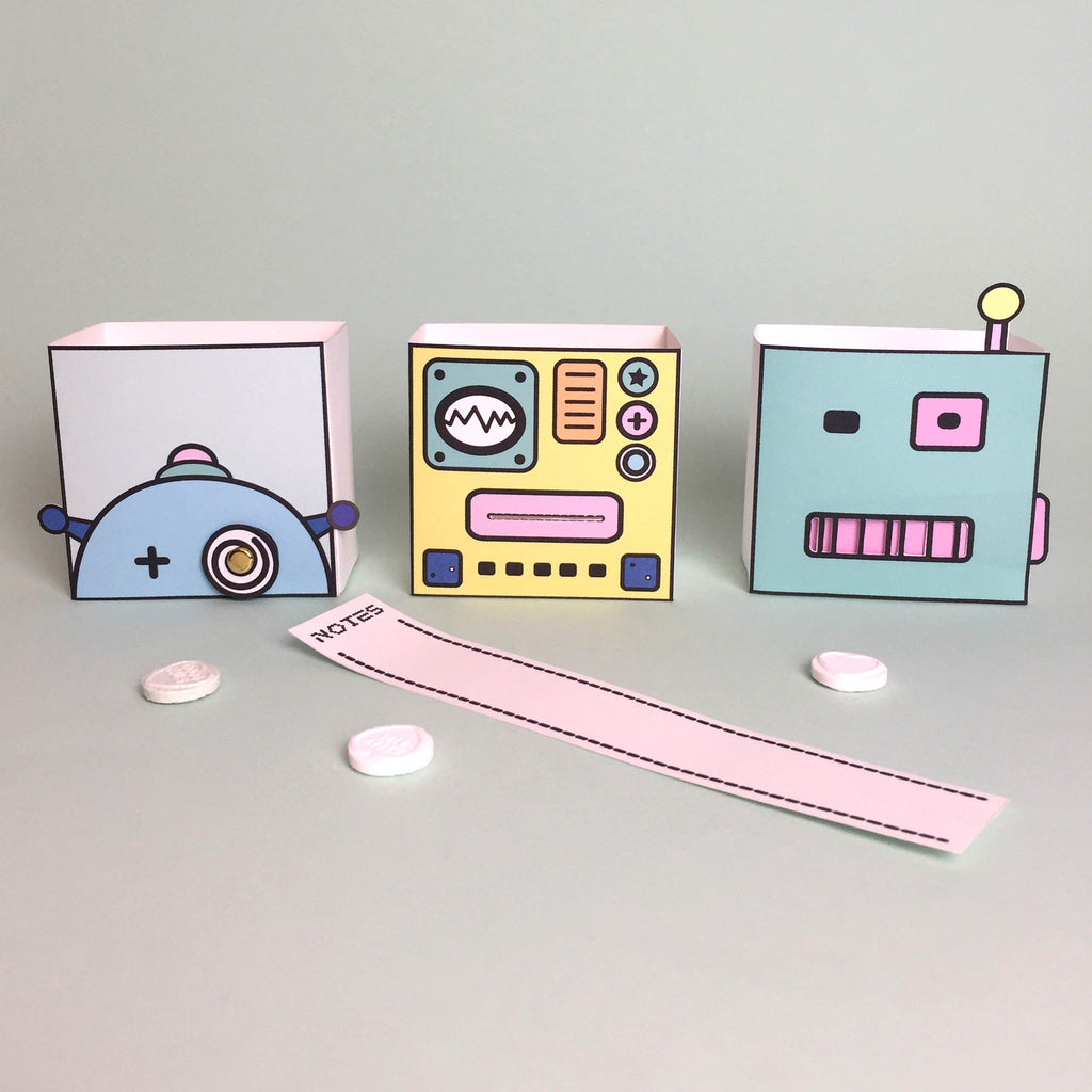 Robots boxes free download