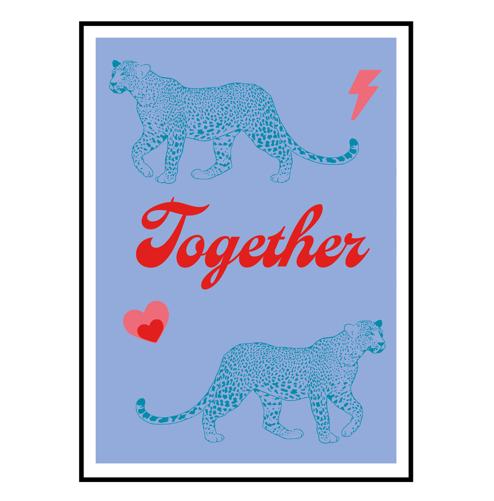 Together 'Leopards' Mini print
