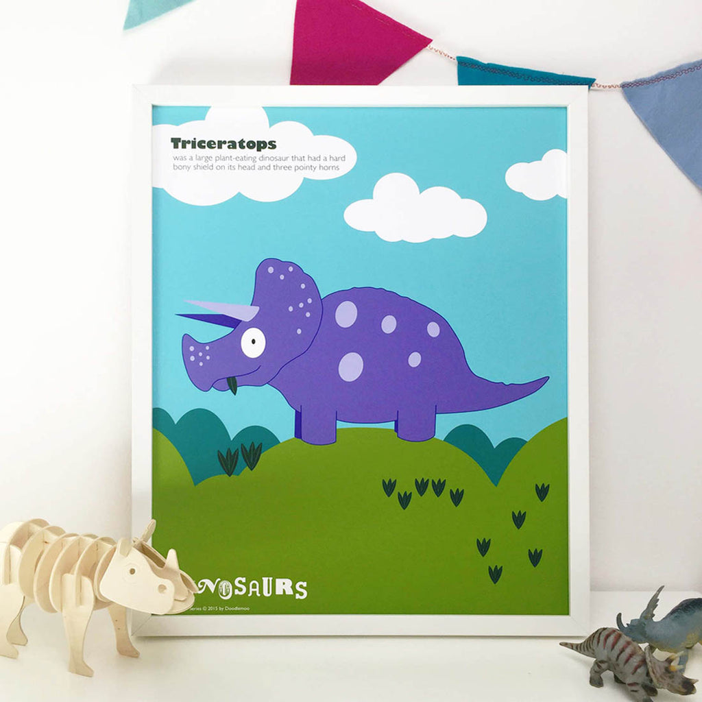 Triceratops Dinosaur form the T-Rex and friends collection
