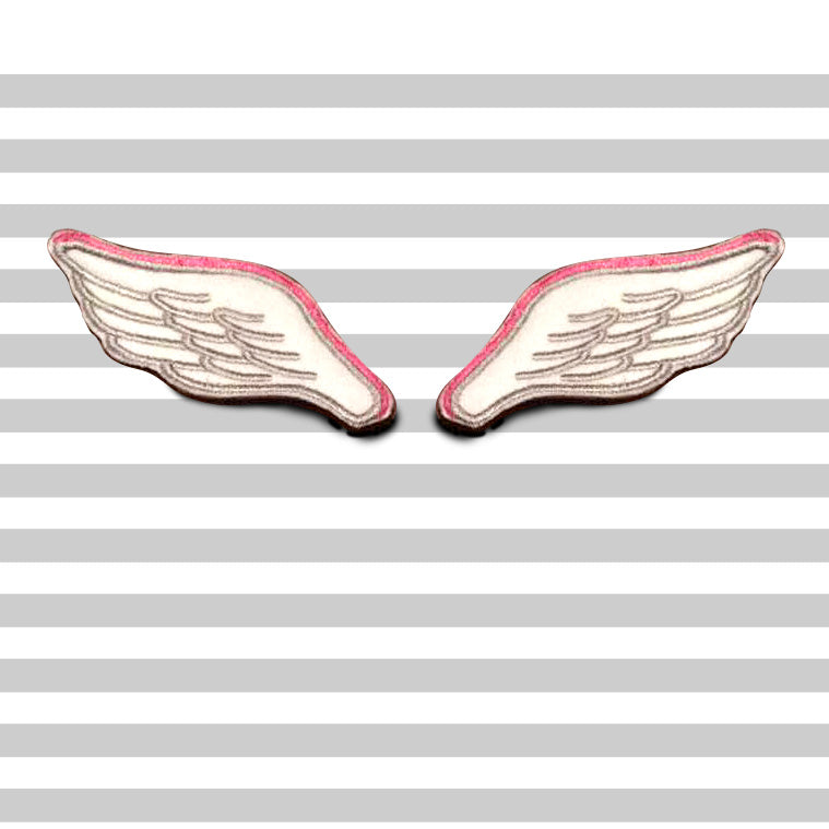 WINGS PAIR; patches iron-on