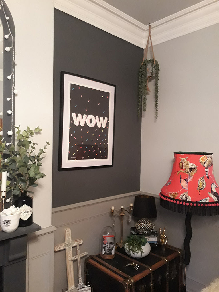 WOW art print by Doodlemoo Styled by Styling York Pretty