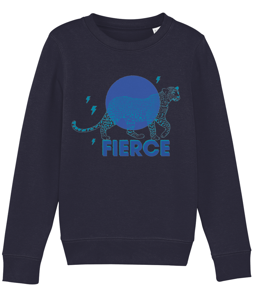 Sweatshirt Mini Changer Fierce Blue - Kids