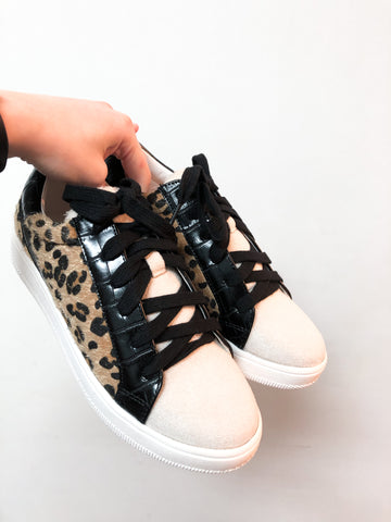 Feel Like It Leopard Sneakers