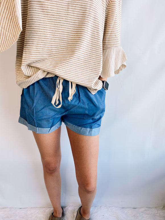 Must-Have Chambray Shorts