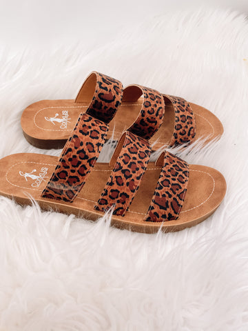 All To Myself Cheetah Sandals