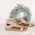 Jayde's Brown Speckled Sandal