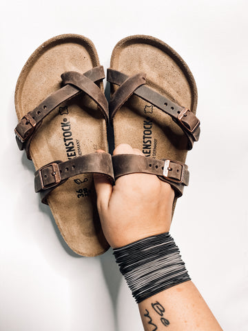 Mayari Soft Oiled Birkenstocks | Habana
