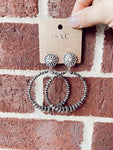 All Night Navajo Hoop Earrings