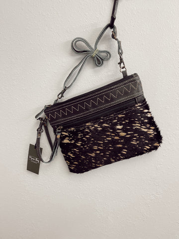 Murky Leather & Hairon Bag
