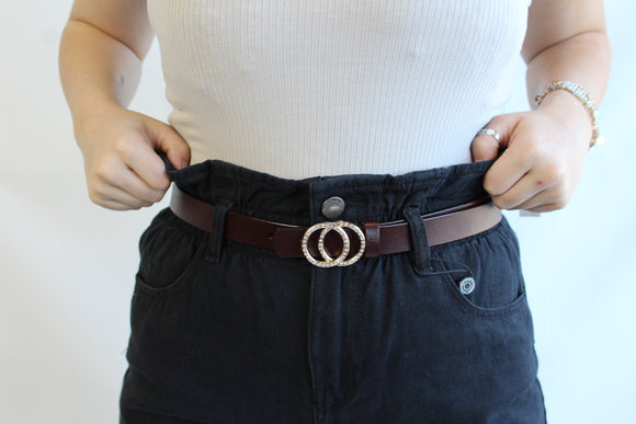 Double Studded Ring Belt | Colors