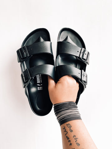 Waterproof Birkenstocks | Black