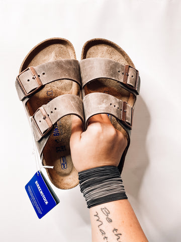 Arizona Soft Footbed  Birkenstocks | Light Tobacco Brown | Best Seller