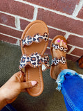 Lovin' You Leopard Sandals