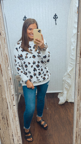 Someone Like You Leopard Sweater