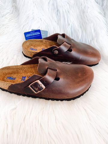 Boston BS Soft-Footbed Birkenstock | Habana