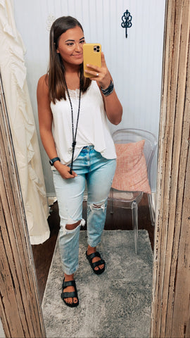 Haley's Pick Distressed Jeans