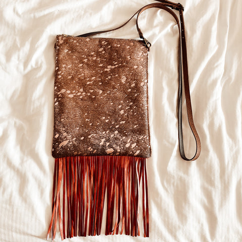 Better Love Me Red Fringe Crossbody