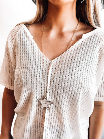 Long Star Necklace | Colors