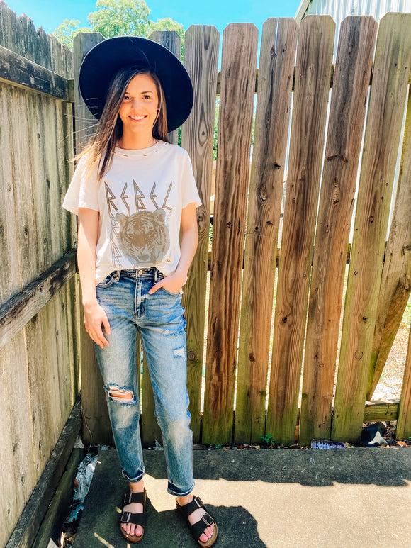 Two Ways Around It Mom Jeans | KanCan