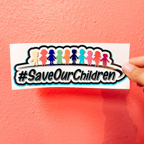 Save Our Children Decal