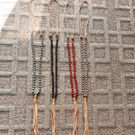 Tassels + Beads Necklace
