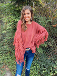All About You Fringed Sweater