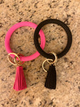 Rubber O-Key Rings | Colors