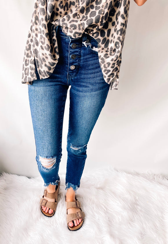 Walkin' Out High-Waisted Jeans | KanCan
