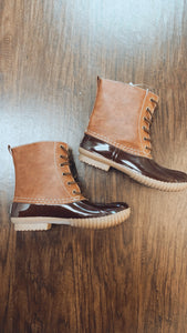 Timber Brown Duck Boots