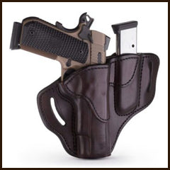 1791 Gunleather - Combo 1911 Belt Holster with MAG