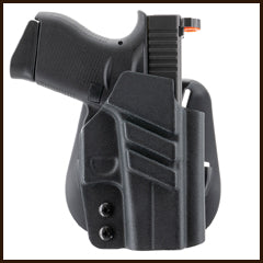 1791 Gunleather - Kydex Glock 43 Tactical Paddle Holster