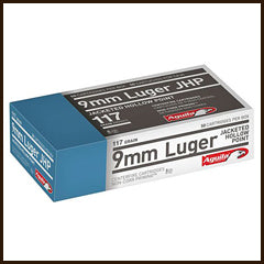Aguila Ammunition - 9mm 117 Grain Jacketed Hallow Point