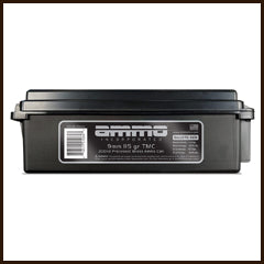 AMMO Incorporated - 9mm Lugar 115GR. 200 Round Ammo Can
