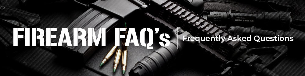 California Firearms Frequently Asked Questions.