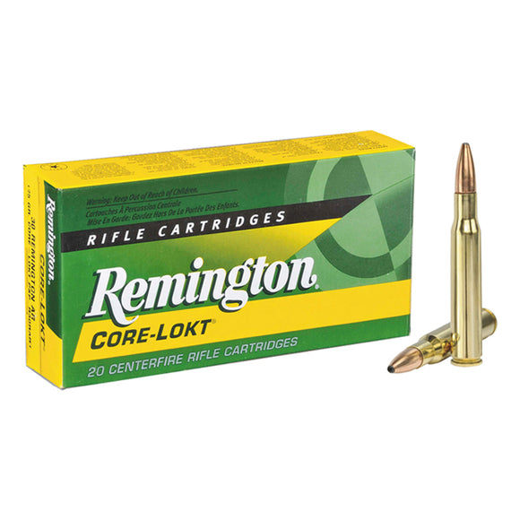 7mm Rem Mag, Remington Ammo, Core-Lokt PSP 175GR., 20BX