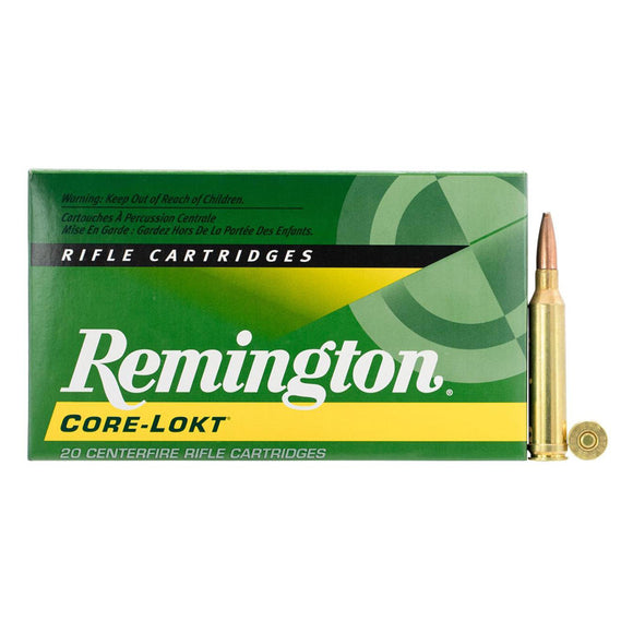 7mm Rem Mag, Remington Ammo, Core-Lokt PSP 140GR., 20BX