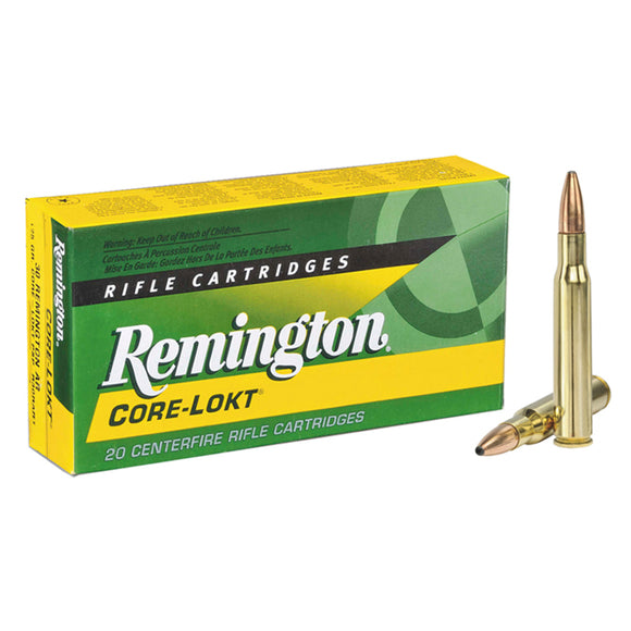 7mm Rem Mag, Remington Ammo, Core-Lokt PSP 150GR., 20BX