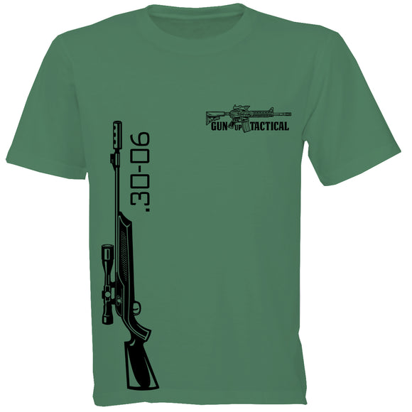 30-06 Rifle T-Shirt | Gun Up Tactical