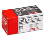.30 Carbine - Aguila Ammunition - Rifle, FMJ, 110GR. 50RD/BX