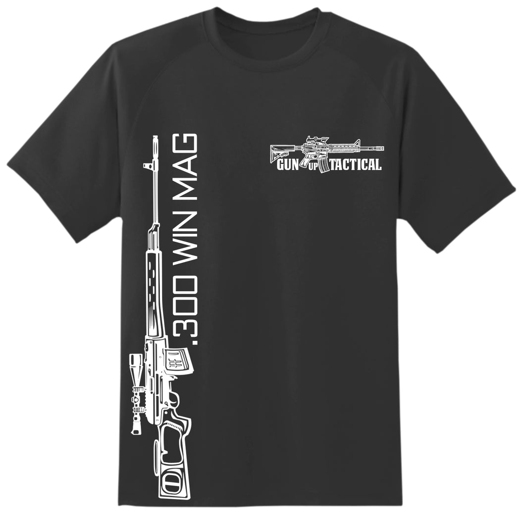 300 Win Mag T-Shirt | Gun Up Tactical