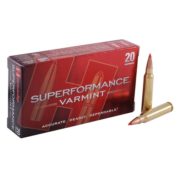 .222 Remington - Hornady - Rifle, V-MAX Superformance 50GR. 20RD/BX