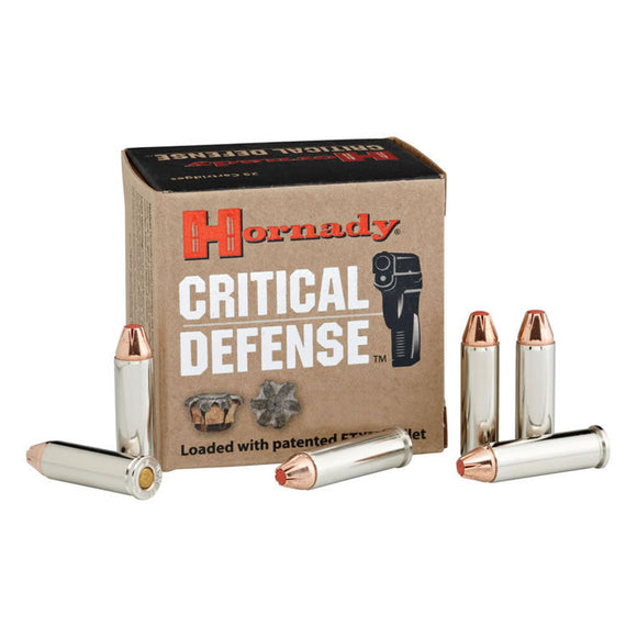 .45 Colt, Hornady Ammunition, Critical Defense FTX, 185GR. 20RD/BX