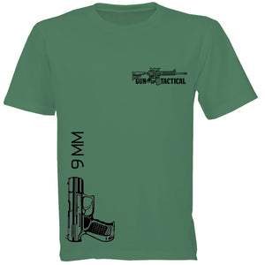 9mm T-Shirt | Gun Up Tactical