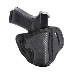 Carbon Fiber Multi-Fit Open Top Belt Holster - BH2.1